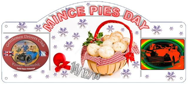 Mince pies 2014
